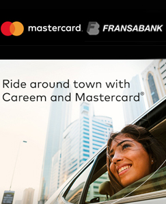 Fransabank and Mastercard Promotion on Careem Rides