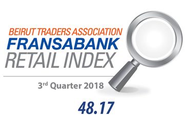 Beirut Traders Association - Fransabank Retail Index For The Third Quarter 2018 (Q3-2018)