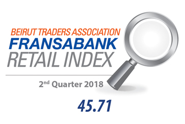 Beirut Traders Association - Fransabank Retail Index For The Second Quarter 2018 (Q2-2018)