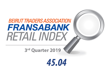 Beirut Traders Association - Fransabank Retail Index For The Third Quarter 2019 (Q3-2019)